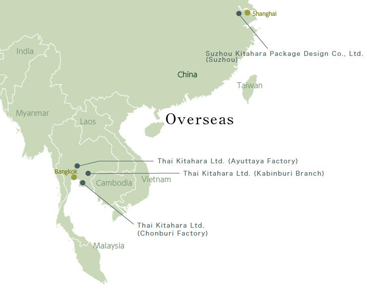 事業所MAP OVERSEAS